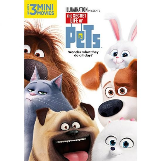 AU $22 BUY: The Secret Life of Pets Kids Movie on DVD in Australia
