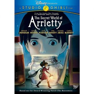 AU $25 BUY: The Secret World of Arrietty Kids Movie on DVD in Australia