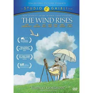 AU $20 BUY: The Wind Rises Kids Movie on DVD in Australia