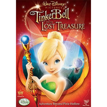 AU $20 BUY: Tinker Bell & The Lost Treasure Anime DVD in Australia