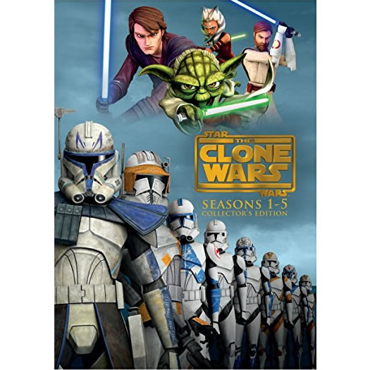 AU $96 BUY: Star Wars: The Clone Wars Complete Series Seasons 1-5 on DVD in Australia