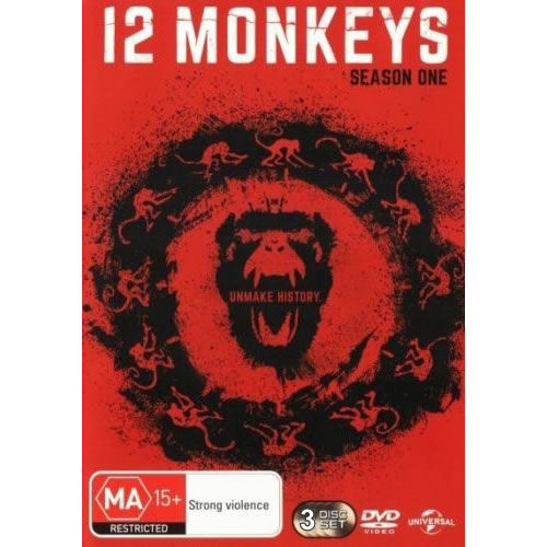 AU $25 BUY: 12 Monkeys - Season 1 on DVD in Australia