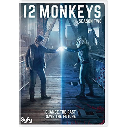 AU $26 BUY: 12 Monkeys - Season 2 on DVD in Australia