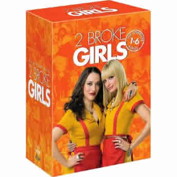 AU $90 BUY: 2 Broke Girls Complete Series Seasons 1-6 on DVD in Australia
