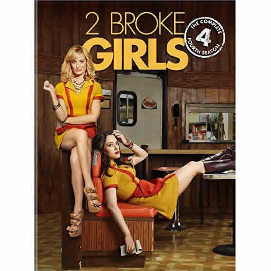 AU $26 BUY: 2 Broke Girls - Season 4 on DVD in Australia