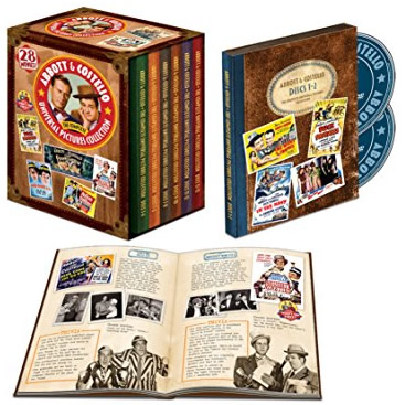 AU $84 BUY: Abbott & Costello: Universal Pictures Collection Complete Series on DVD in Australia