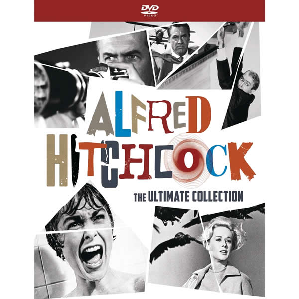 AU $92 BUY: Alfred Hitchcock: The Ultimate Collection 15 Movies 10 TV Episodes 15 Hrs of Bonus 58 Page Book on DVD in Australia
