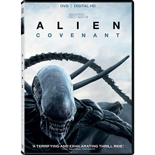 AU $22 BUY: Alien: Covenant on DVD in Australia