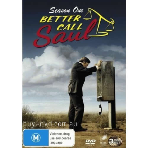 AU $25 BUY: Better Call Saul - Season 1 on DVD in Australia