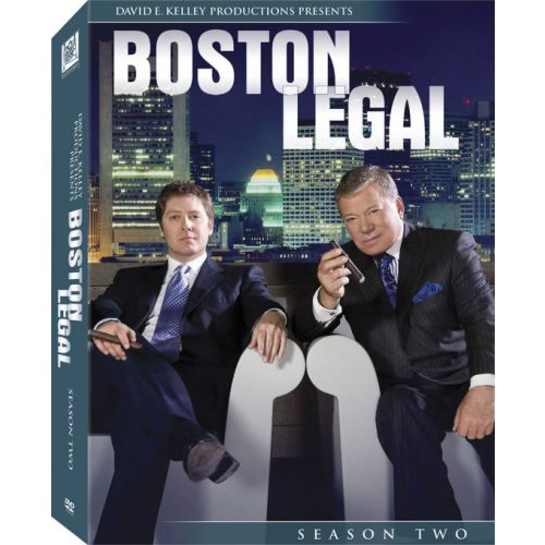 AU $38 BUY: Boston Legal - Season 2 on DVD in Australia