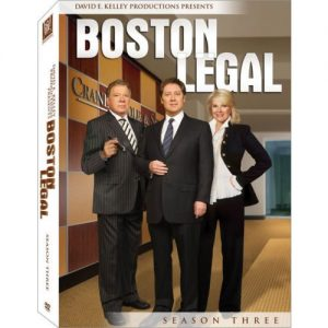 AU $38 BUY: Boston Legal - Season 3 on DVD in Australia