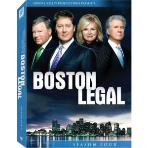 AU $35 BUY: Boston Legal - Season 4 on DVD in Australia