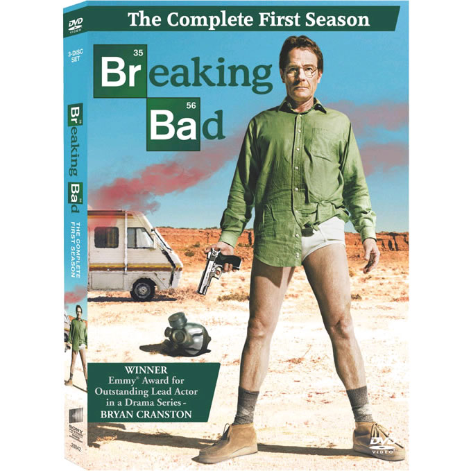 AU $25 BUY: Breaking Bad - Season 1 on DVD in Australia