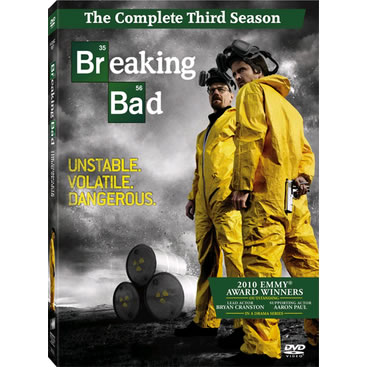 AU $26 BUY: Breaking Bad - Season 3 on DVD in Australia