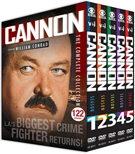 AU $115 BUY: Cannon Complete Series on DVD in Australia
