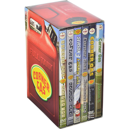 AU $86 BUY: Corner Gas Complete Series on DVD in Australia