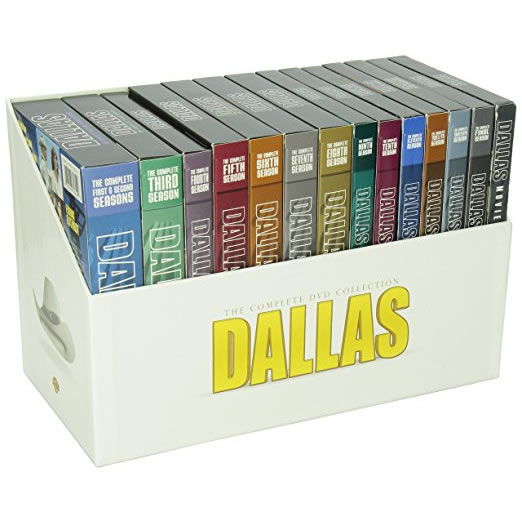 AU $180 BUY: Dallas Complete Series Seasons 1-14 & 3 Movies on DVD in Australia