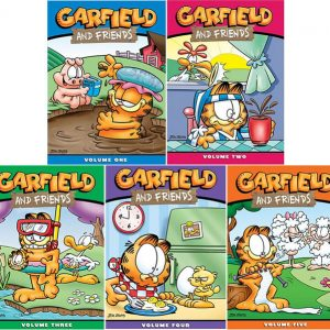 AU $76 BUY: Garfield and Friends Complete Series Vol 1-5 on DVD in Australia
