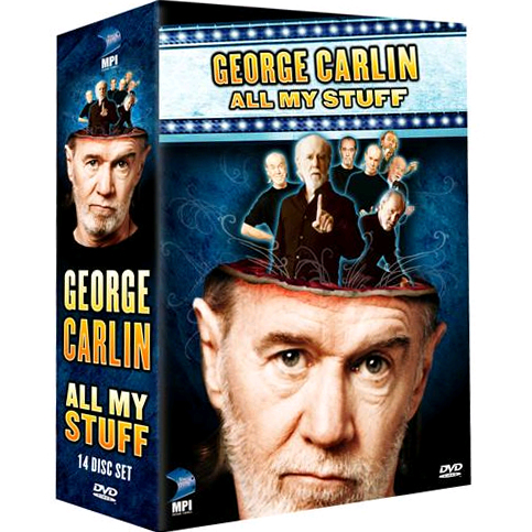AU $85 BUY: George Carlin: All My Stuff Complete Series on DVD in Australia