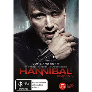 AU $23 BUY: Hannibal - Season 3 on DVD in Australia