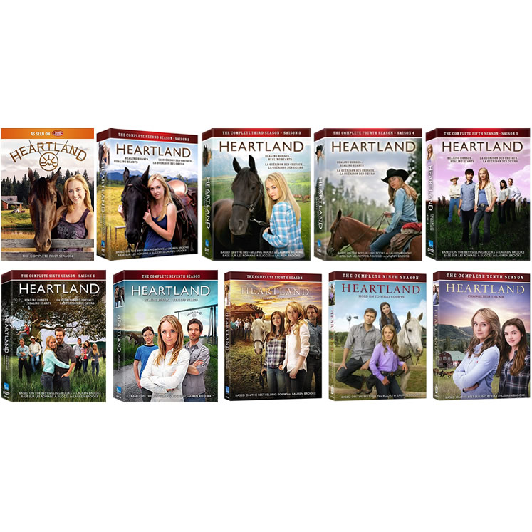 AU $180 BUY: Heartland Complete Series Seasons 1-10 on DVD in Australia