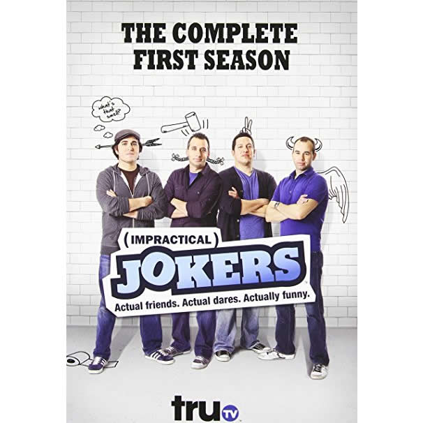 AU $25 BUY: Impractical Jokers - Season 1 on DVD in Australia