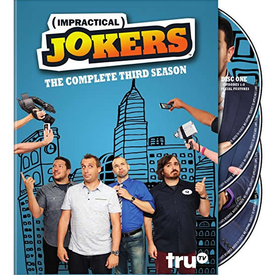 AU $28 BUY: Impractical Jokers - Season 3 on DVD in Australia