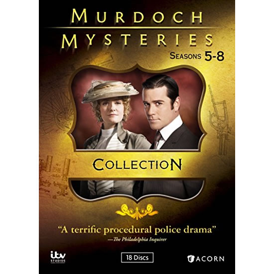 AU $75 BUY: Murdoch Mysteries Complete Series Seasons 5-8 on DVD in Australia