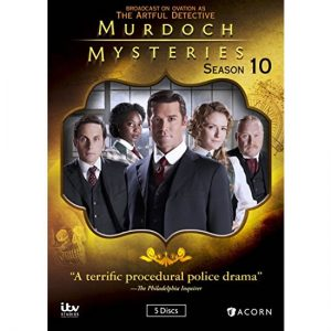 AU $35 BUY: Murdoch Mysteries - Season 10 on DVD in Australia
