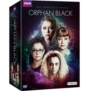 AU $85 BUY: Orphan Black Complete Series on DVD in Australia