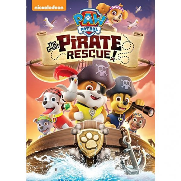 AU $20 BUY: PAW Patrol: The Great Pirate Rescue! Animated DVD in Australia