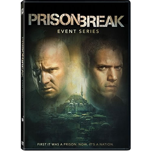 AU $22 BUY: Prison Break - Season 5 Event Series on DVD in Australia