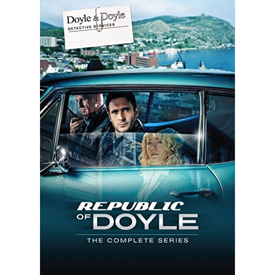 AU $92 BUY: Republic of Doyle Complete Series on DVD in Australia