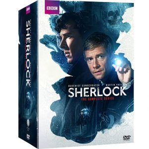 AU $70 BUY: Sherlock Complete Series on DVD in Australia