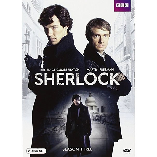 AU $26 BUY: Sherlock - Season 3 on DVD in Australia