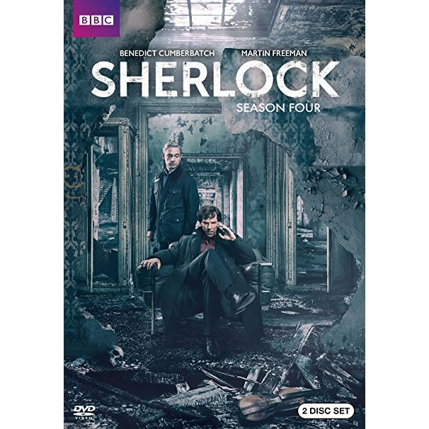 AU $28 BUY: Sherlock - Season 4 on DVD in Australia
