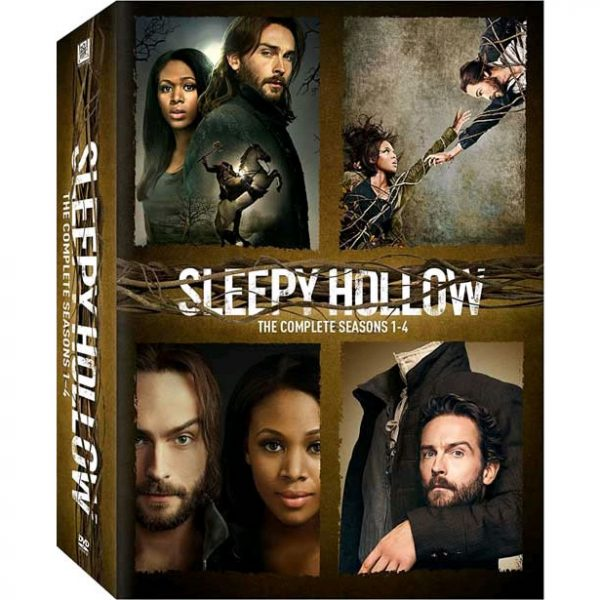 AU $87 BUY: Sleepy Hollow Complete Series Seasons 1-4 on DVD in Australia