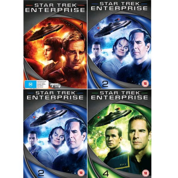 AU $105 BUY: Star Trek Enterprise Complete Series Seasons 1-4 on DVD in Australia