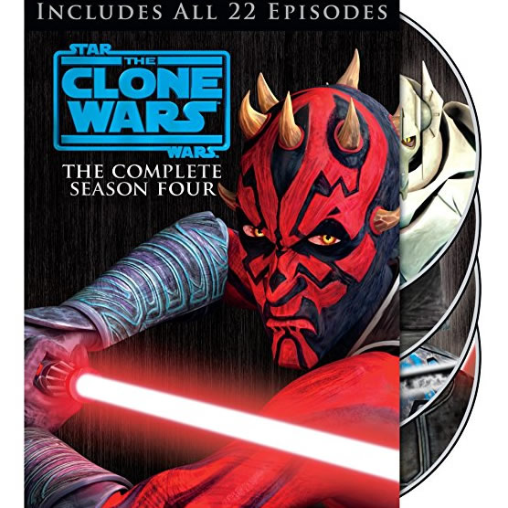 AU $30 BUY: Star Wars: The Clone Wars - Season 4 on DVD in Australia