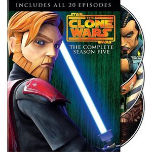 AU $28 BUY: Star Wars: The Clone Wars - Season 5 on DVD in Australia