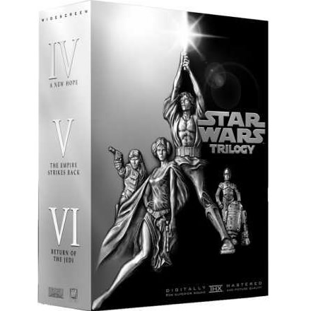 AU $48 BUY: Star Wars Trilogy on DVD in Australia