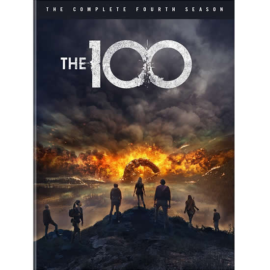 AU $28 BUY: The 100 - Season 4 on DVD in Australia
