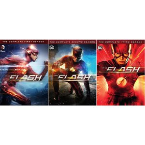 AU $78 BUY: The Flash Complete Series Seasons 1-3 on DVD in Australia