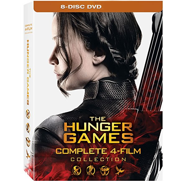 AU $39 BUY: The Hunger Games Complete 4 Film Collection on DVD in Australia