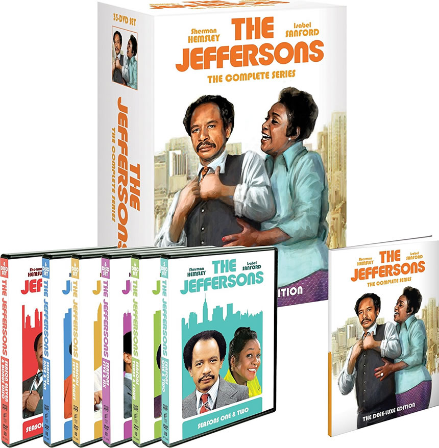 AU $108 BUY: The Jeffersons Complete Series on DVD in Australia