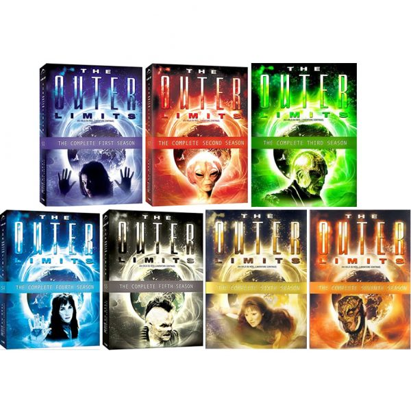 AU $145 BUY: The Outer Limits Complete Series Seasons 1-7 on DVD in Australia
