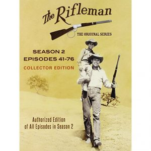 AU $55 BUY: The Rifleman Official - Season 2 on DVD in Australia