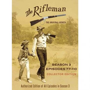 AU $55 BUY: The Rifleman Official - Season 3 on DVD in Australia