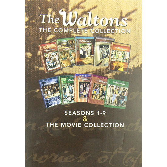 AU $130 BUY: The Waltons Complete Series Seasons 1-9 & Movie Collection on DVD in Australia