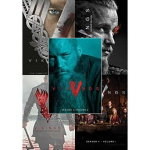 AU $50 BUY: Vikings Complete Series on DVD in Australia